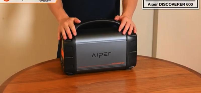 Aiperのポータブル電源 DISCOVERER 600の画像