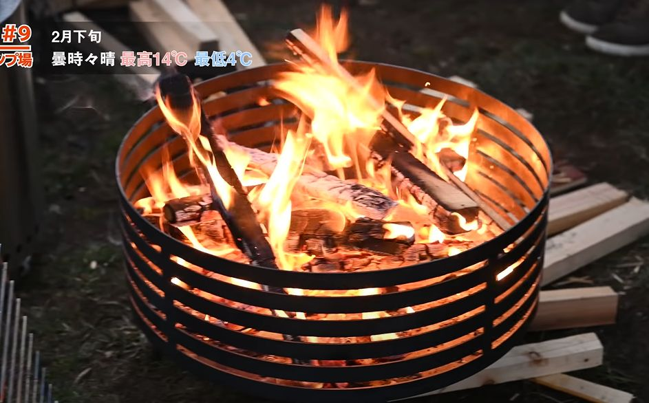 サンゾクマウンテン焚き火台