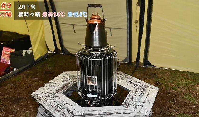 トヨトミ石油ストーブKS-67H(B)