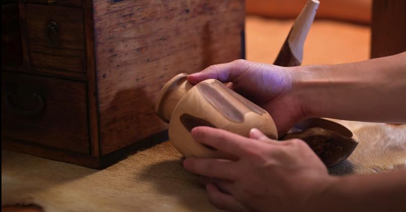 KIMAGUREさん制作のコーヒー筒の写真