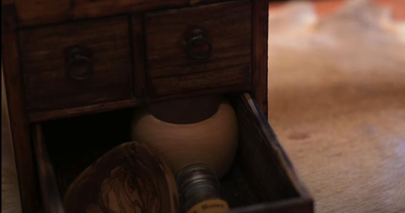 KIMAGUREさん制作の古箱の引き出し部分