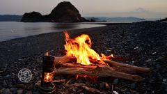 キャンプ焚火背景動画【ZOOM】無料素材配布中!焚き火、風景、自然