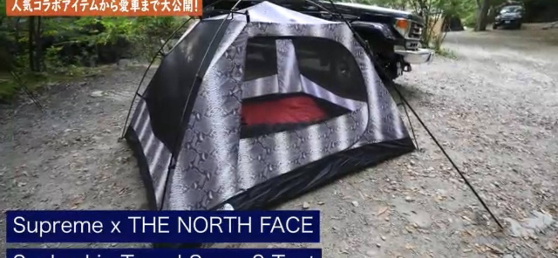 テント:【Supreme×THE NORTH FACE】 Snakeskin Seam 3 Tent