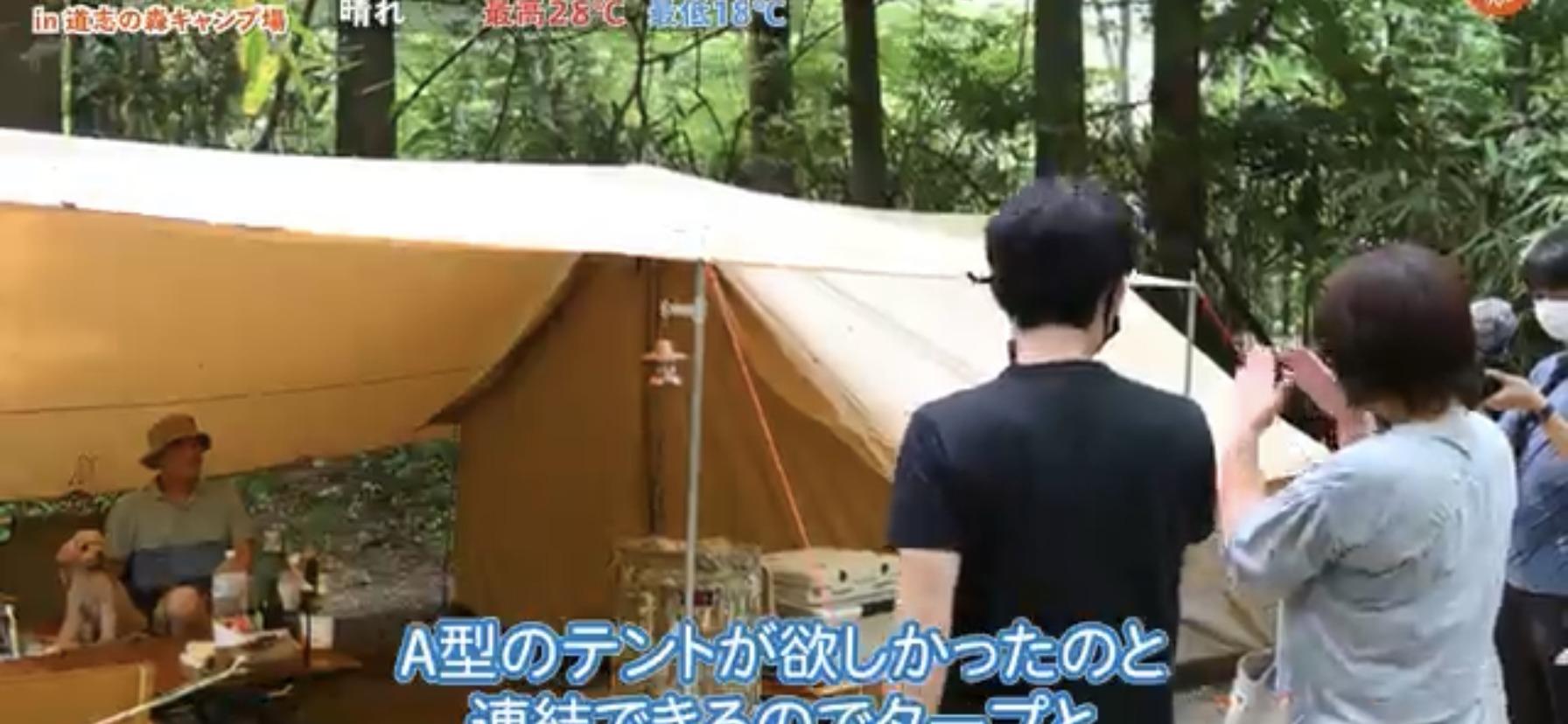 タープ:【DOD(ディーオーディー)】 ヒレタープ