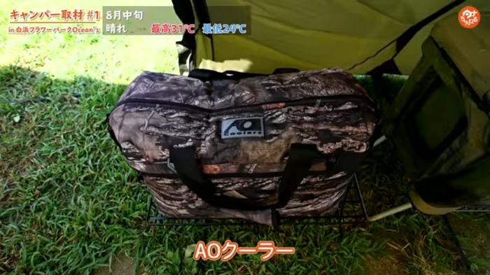 ソフトクーラー:【AO Coolers(エーオークーラー) 】