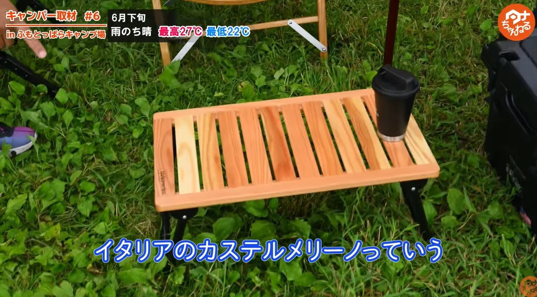 テーブル:【カステルメルリーノ】ローテーブル
