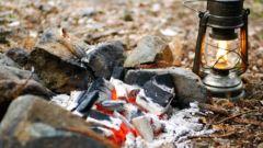 ソロキャン!炭火を使ってイチから和牛ハンバーグを作ってみた