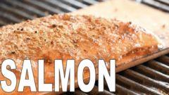 【BBQレシピ】グリルで簡単調理!シダープランクサーモンに挑戦!【キャンプ料理教室】