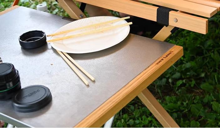 テーブル:【UNIFLAME】焚き火テーブル