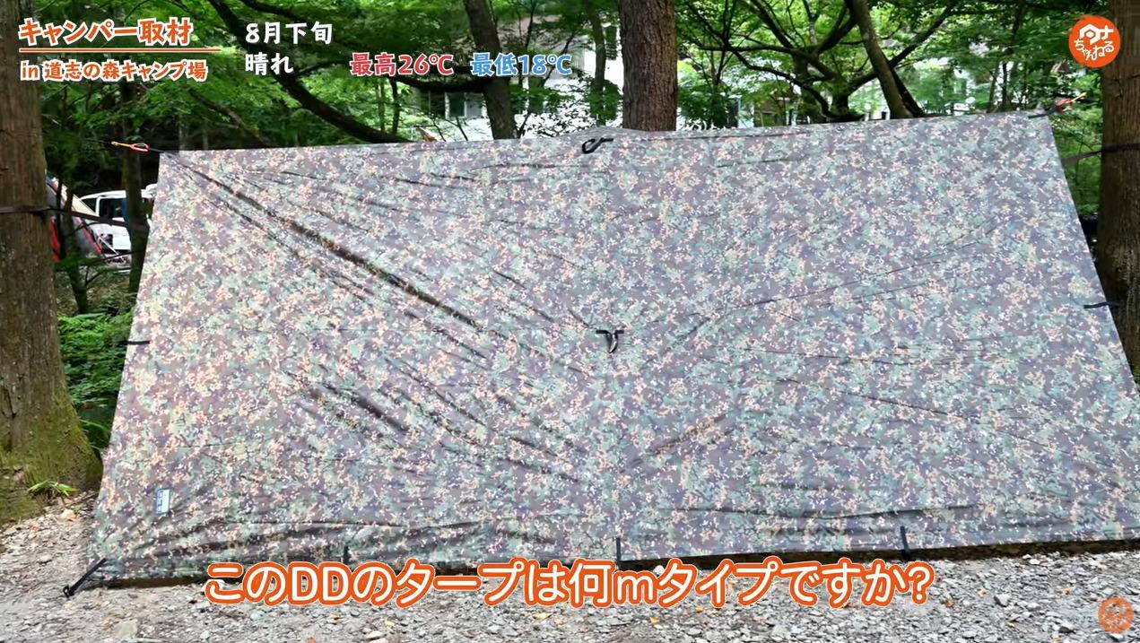 タープ:【DD】タープ4×4 フロントラインハンモック