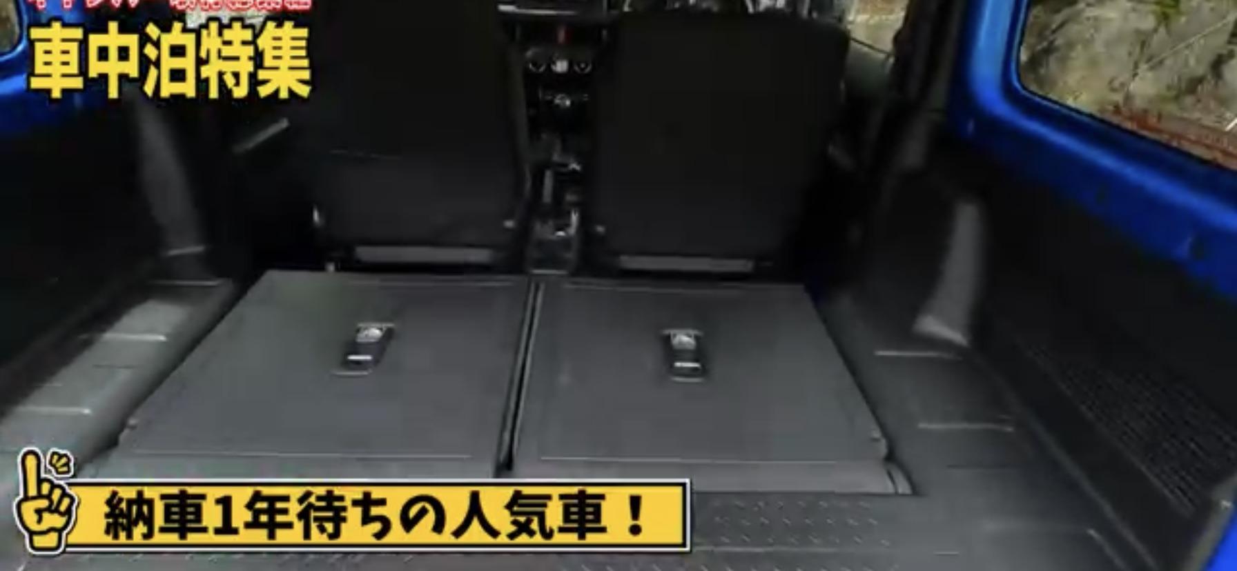 車中泊その5:【スズキ】ジムニー 新型