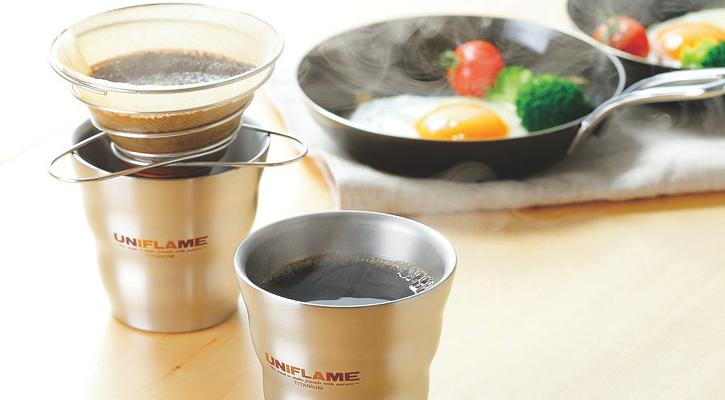 ユニフレームのコーヒーバネット