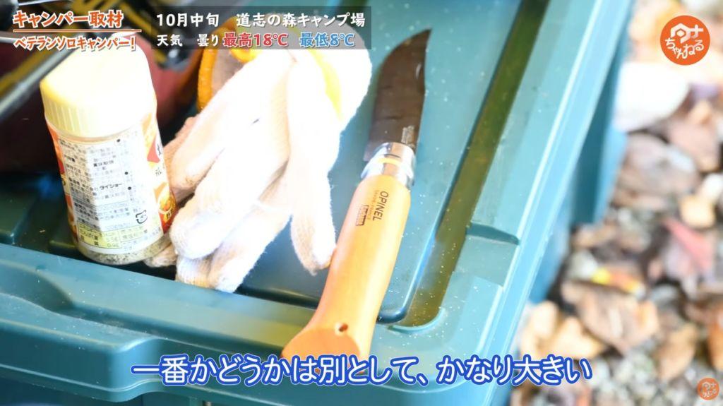 ナイフ:【オピネル】カーボンスチール