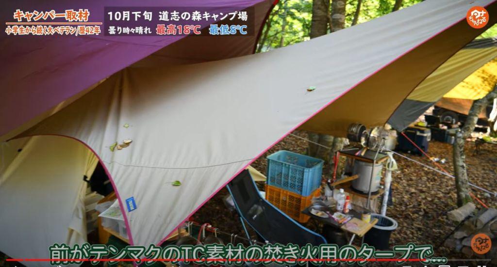 タープ テンマクデザイン ムササビ  フィールドア タープ