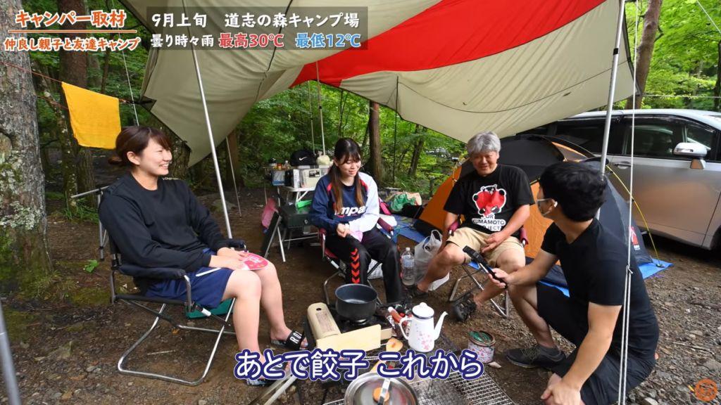 キャンプ料理について