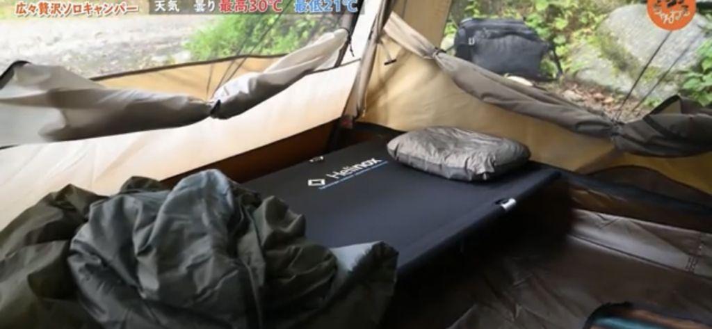 枕:【スノーピーク】枕 ストレッチピロー