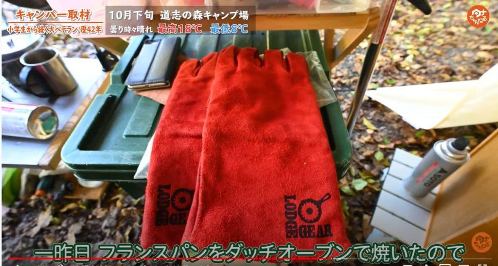 LODGE 革手袋