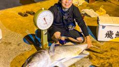 奄美大島で大島軍とGT釣ってきた(ロウニンアジ32kg)