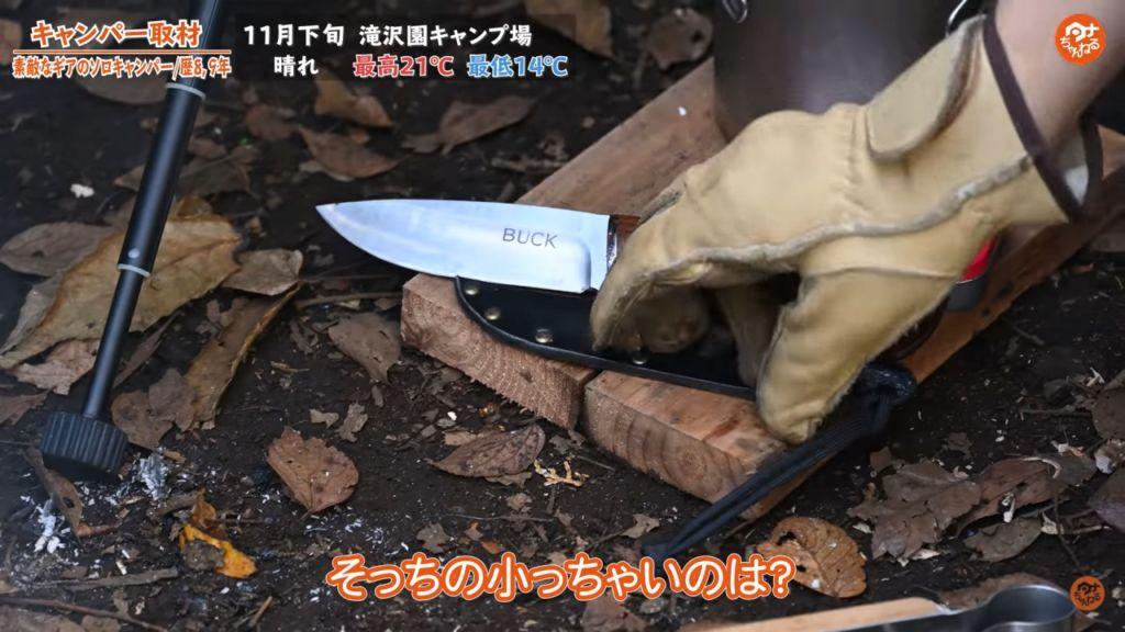 ナイフ:【BUCK】