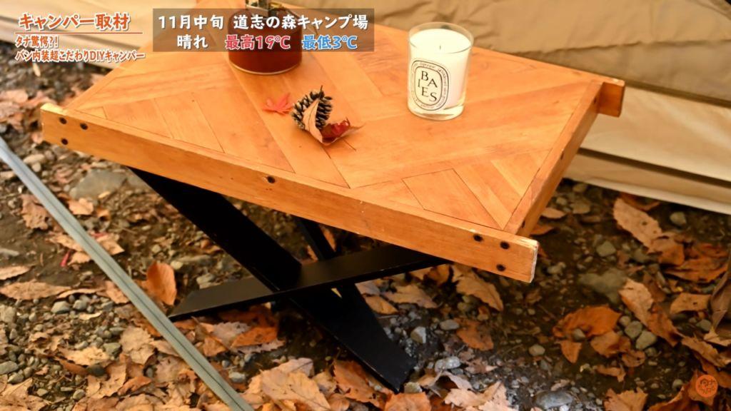 自作テーブル