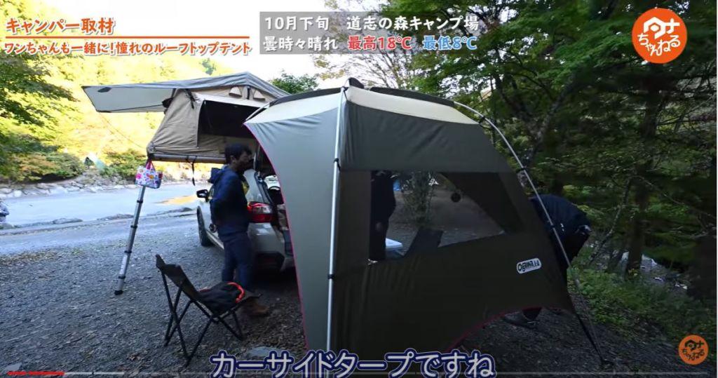 タープ:【オガワ】 カーサイドタープ