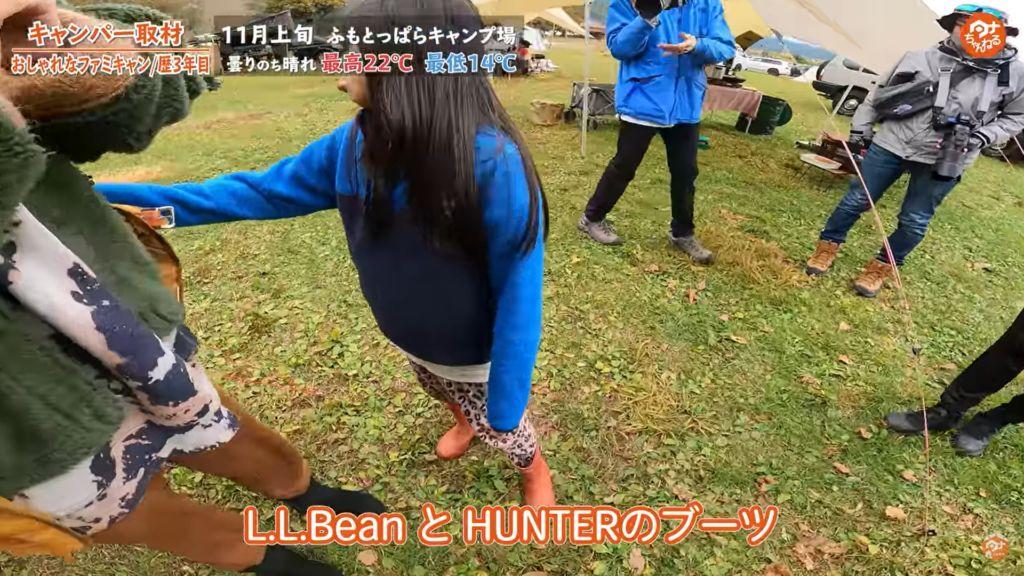 子供 L.L.BEAN HUNTER ブーツ