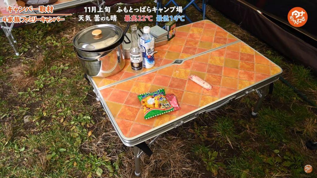 テーブル :【ホールアース】/ チェア :【コールマン】