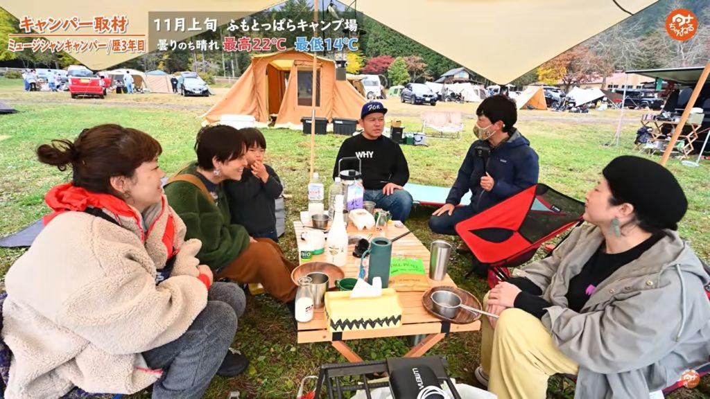 ふもとっぱらキャンプ場 ファミリーキャンプ
